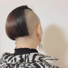 Shaved Undercut, Buzzed Hair, Side Cuts, Dares, Bob Cut, Shaving, Short Hair Styles, Bobs, Instagram