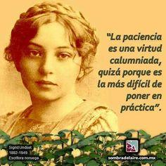 #EfemérideLiteraria En 1949 muere #SigridUndset, premio #Nobel de #Literatura 1928. #Novela www.sombradelaire.com.mx