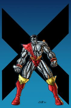 Colossus color by billmeiggs on DeviantArt