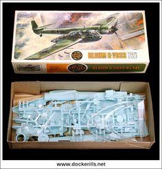Blohm & Voss B.v.141 - Vintage Airfix Type 4 Box Kit. 1/72 Scale. Photo in DOCKERILLS - VINTAGE AIRFIX REFERENCE - Google Photos