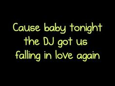 This is a music video of lyrics to DJ Got Us Falling in Love Again by Usher ft. Pitbull Enjoy & Remember to Sub,Like,&Comment. I do not own this song. Falling In Love Again, We Fall In Love, My Love, Song Lyric Quotes, Song Lyrics, All Songs, Love Songs, Music Film, My Music