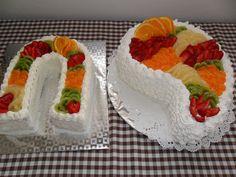 Dorty od Ireny - Fotoalbum - Krémové dorty Sushi, Cake, Ethnic Recipes, Food, Kuchen, Essen, Meals, Torte, Cookies