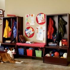 organization in kids room