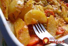 Najlepšia príloha široko-ďaleko: Vyskúšajte úžasne šťavnatý zemiakový pekáč!
