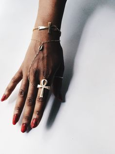 The Perfect Ankh ring. / PeaceImages Jewelry