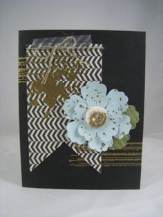 Gold Embossed Gorgeous Grunge--Cased this card from convention. Love the gold embossing on the button!  see the details on my blog:  http://stampinu.wordpress.com/2013/08/30/golden-gorgeous-grunge/