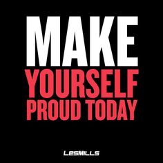What will you do today to make yourself proud? #fitterplanet