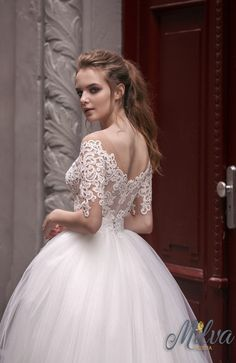 Courtesy of Milva Wedding Dresses; Wedding dress idea.