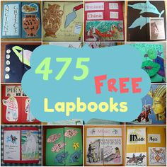 free lapbook links