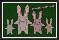 Funny Bunny - 'Supernatural' Rug Conversion - SIMULATED SITUATIONS