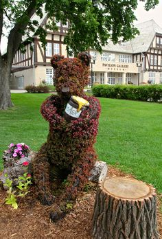 I love the story of the real Winnie the Pooh from Winnipeg Canada. http://mojotraveler.com/the-real-story-of-winnie-the-pooh-and-winnipeg-canada/