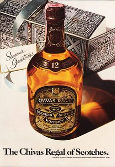 1978 CHIVAS REGAL Whiskey Advertisement - Scotch Whisky, Season's Greetings by phorgotten