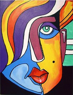 'Ghost' DNA In West Africans Complicates Story Of Human Origins – Keep up with the times. Cubist Portraits, Acrylic Painting Canvas, Canvas Art, Pop Art, Cubist Art, Abstract Face Art, Arte Pop, Human Art, African Art