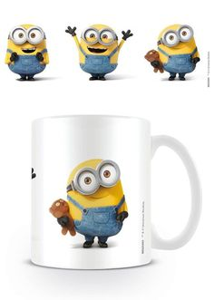 Minions - Bob Character - Ceramic Coffee Mug. Dishwasher and microwave safe. Capacity: ca 11oz. Official Merchandise. FREE SHIPPING