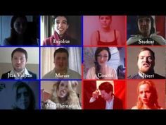 Les Misérables - One Day More (Friends Group Cover)...oh. wow.  This. is. epic.  Some of the voices aren't that great, but still...totally gave me chills.