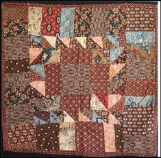 The other day after showing the madder humble little doll quilt, I felt the urge to make it!! Instead I worked on the medallion, getting mos...