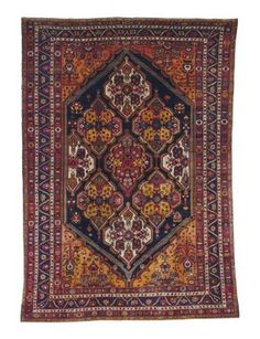 BAKHTIARI CARPET WEST PERSIA, FIRST QUARTER 20TH CENTURY Approximately 19 ft. 3 in. x 13 ft. 5 in. (587 cm. x 409 cm.)