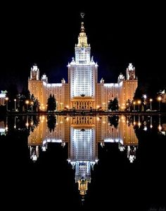 Beautiful! Moscow State University, Russia.....