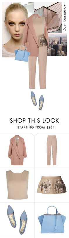 """""""""""To define is to limit."""" - Oscar Wilde"""" by hil4ry ❤ liked on Polyvore featuring Keen Footwear, Chalayan, By Malene Birger, Alice + Olivia, N°21, Nicholas Kirkwood and Fendi"""