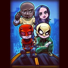 The Defenders!!! By lord_mesa