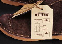 Nagesh Pramod Shinde - Package Design - Timberland Shoeboxredesign