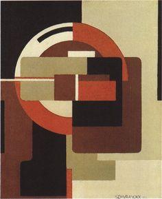 Red Rotation, 1922 Victor Servranckx