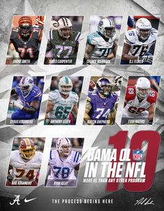 Bama OL can't be beat