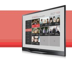 Middleware IPTV User Interface by Alex Townsend, via Behance