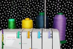 Mamma Nene of SergerPepper talks about achieving the perfect serger tension by analyzing the anatomy of the stitches on your serger!
