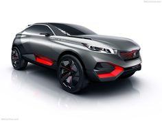 Peugeot Quartz Concept Exterior View