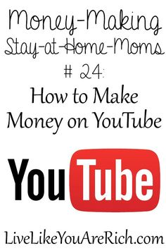 How to Make Money on YouTube- great step by step interview! #LiveLikeYouAreRich Money Saving Tips, #SaveMoney, Saving Money