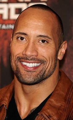 Dwayne Johnson - Such a handsome man                                                                                                                                                      More
