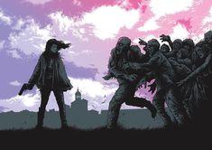 Dan Mumford, Concert, Walking Dead, Anime, Art, Art Background, Kunst, Concerts, Cartoon Movies