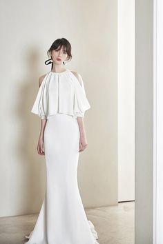 로브드케이 ROBE DE K Pure White, Celebs, Pure Products, Wedding Dresses, Fashion, Dress, Celebrities, Bride Dresses, Moda