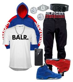 A menswear look from March 2018 featuring mens button fly jeans, mens leather belts and hooded sweatshirt. Browse and shop related looks. Mens Fashion 2018, Teen Boy Fashion, Latest Mens Fashion, Tomboy Fashion, Fashion Wear, Streetwear Fashion, Sneakers Fashion, Fashion Menswear, Guy Fashion