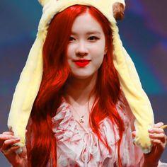Ulzzang, Korea, Lisa, Rose Icon, Rose Park, Tumblr, Park Chaeyoung, Yg Entertainment, Red Hair