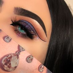 "2,769 Likes, 123 Comments - Z O E M E X I A (@zoemexiamakeup) on Instagram: ""She has a galaxy in her eyes __________________________ ( please tag @hudabeauty &…"""