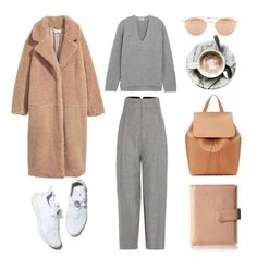 A fashion look from September 2017 by fashionlandscape featuring Acne Studios, Jacquemus, Mansur Gavriel, Kenneth Cole Reaction and Ray-Ban Winter Outfits Women, Fall Outfits, Classy Outfits, Stylish Outfits, Look Fashion, Fashion Outfits, Feminine Fashion, Womens Fashion, Looks Style