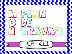 PLANS DE TRAVAIL CP ET CE1 : PERIODE 5 - La classe de Corinne