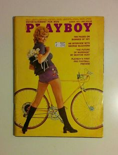 Playboy. August 1971. Entertainment for man