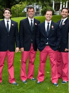 55 Trendy how to wear pink pants navy blazers How To Wear Loafers, Coral Pants, Winter Leather Jackets, Navy Blazers, Smart Casual Men, Bridesmaids And Groomsmen, Winter Outfits For Work, Preppy Outfits, Wedding Looks