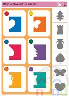 knijpkaart figuren Fall Preschool, Preschool Math, In Kindergarten, Library Activities, Sensory Activities, Preschool Activities, Learning Through Play, Kids Learning, Visual Perception Activities