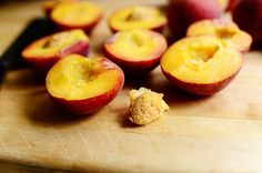 Grilled Peaches and Pecans by Ree Drummond / The Pioneer Woman, via Flickr