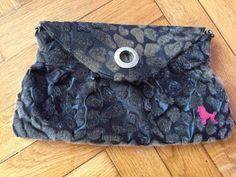 Poodlebag German clutch bag Women purse black khaki brown color  #poodlebag #Clutch