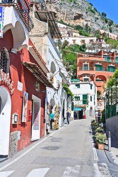 Italy Travel Inspiration - Positano, Amalfi Coast, Campania, Italy