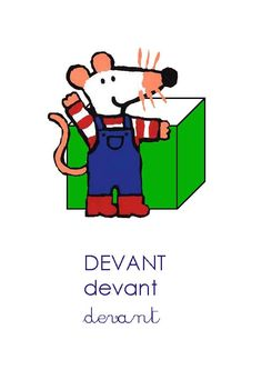 Maisy Mouse, George Costanza, Prepositions, Preschool Science, Kids Education, Activities For Kids, Alphabet, Positivity, Reading