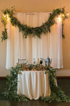 Mr. and Mrs. signs for your sweetheart table are a beautiful addition to your wedding decorations. We simply spray painted plain wooden signs with gold foil paint to give them a gold color to match our romantic, elegant theme. They are 12.8 x 5.9 x 2.5 in