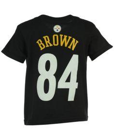 9d2ee0f26 Outerstuff Nfl Antonio Brown T-Shirt, Little Boys (4-7) - Black 5/6. Antonio  BrownPittsburgh SteelersSports ...