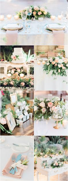 Featured Photographer: Honey Honey Photography; chic outdoor wedding reception details