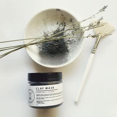 wednesday night featuring ✔️charcoal + lemon clay mask | a magnetic blend of deep cleansing activated bamboo charcoal, with healing clay to draw out toxins & absorb impurities. paired with skin clearing lemon oil & healing essential oil blend ▪️▪️use code 24GIRRL for 24% off for until midnight! #birchroseco #pure #natural #luxe #lavender #livenaturally #charcoal #luxury #bblog #bblogger #facemask #humpday #wednesday